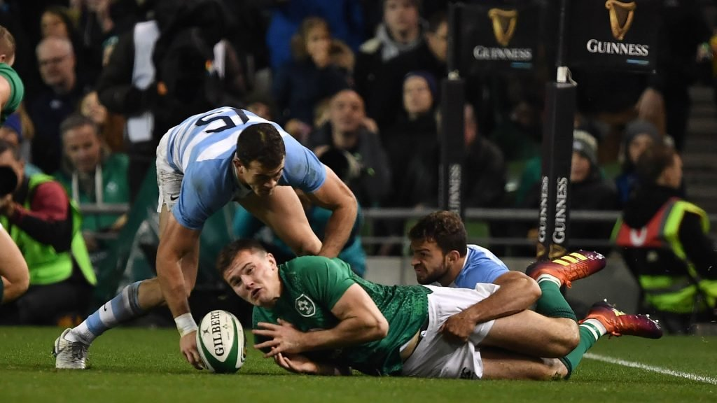 Ireland v Argentina Highlights