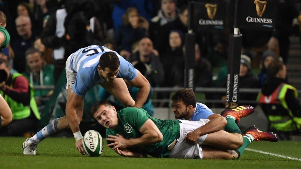 Ireland v Argentina Highlights