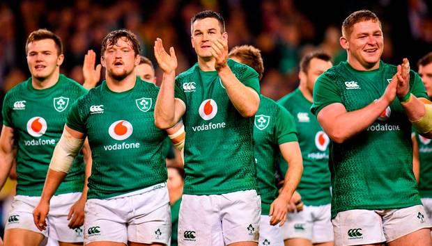 Ireland Make Five Changes For Scotland Match