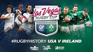 Ireland to play USA in Las Vegas this October