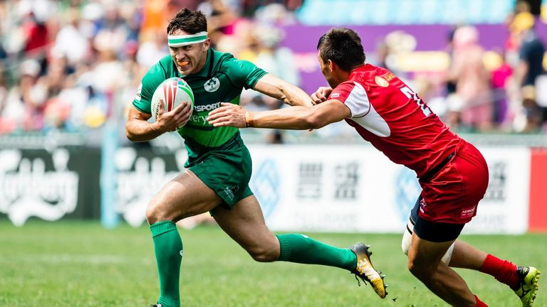 Two defeats on opening day for Ireland 7s